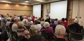 Muth Moderates at Great Decisions Event
