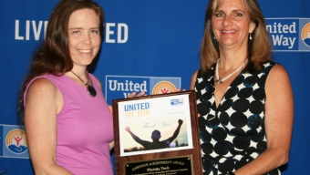 Florida Tech Presented United Way Campaign Award
