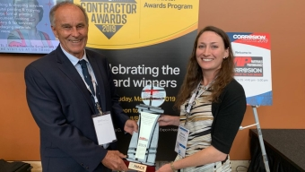 Student, Professor Recognized for Corrosion Prevention Innovation