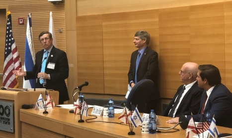 McCay Joins Florida Governor on Israel Mission