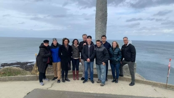 ROTC Cadets Visit Normandy for Battle Analysis Trip