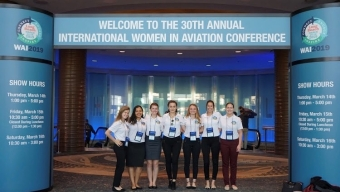 Florida Tech Chapter of Women in Aviation Attends Conference
