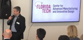 Florida Tech Hosts, Presents at AFRL Meeting